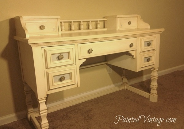 French Inspired Desk by Painted Vintage