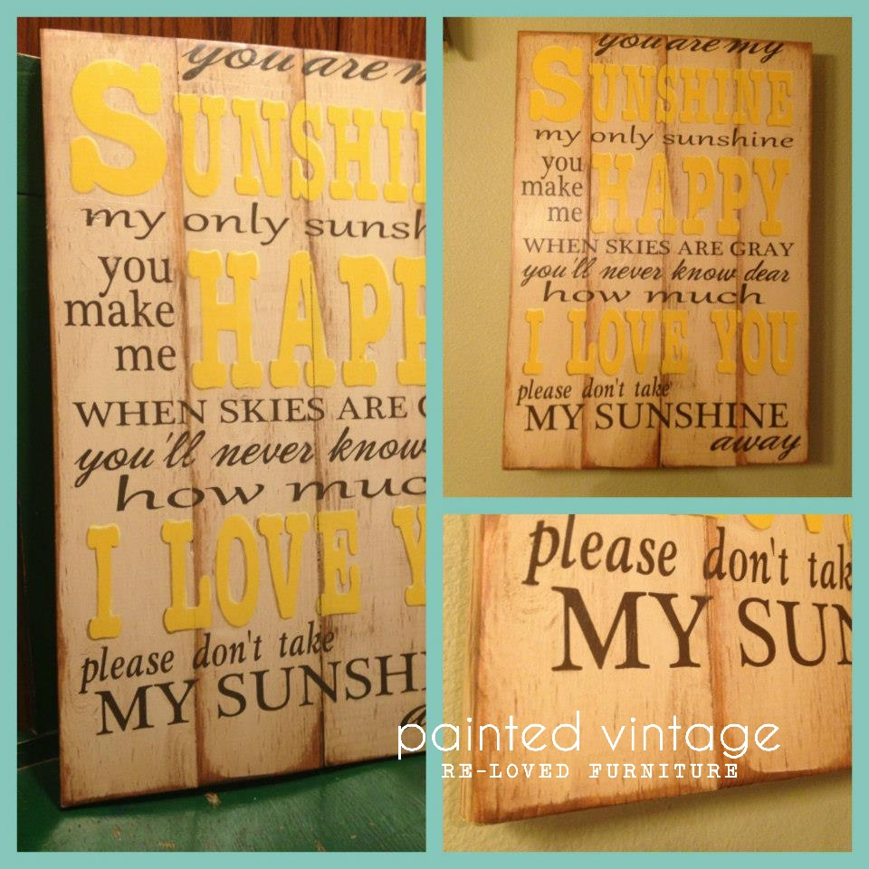 Painted Vintage Sunshine