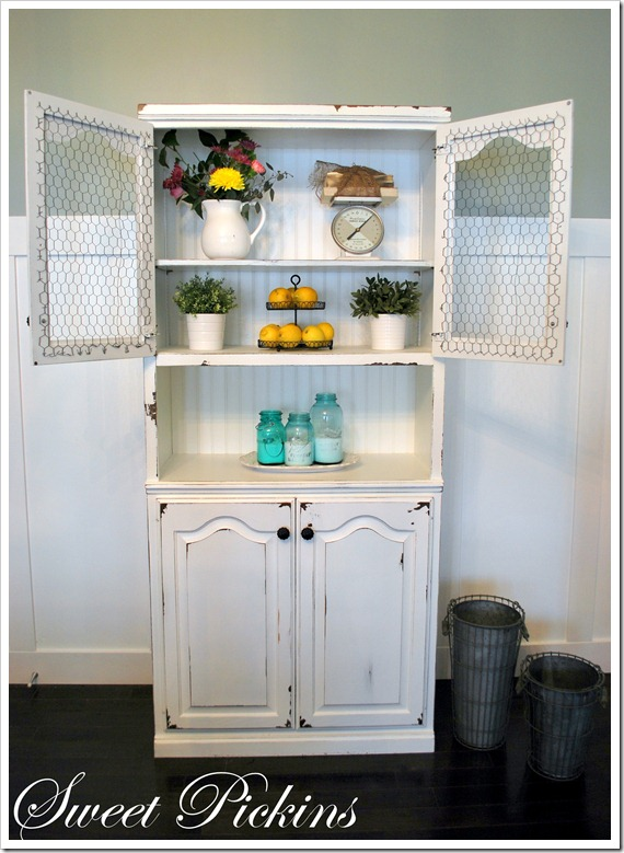 Wood Hutch by Sweet Pickins