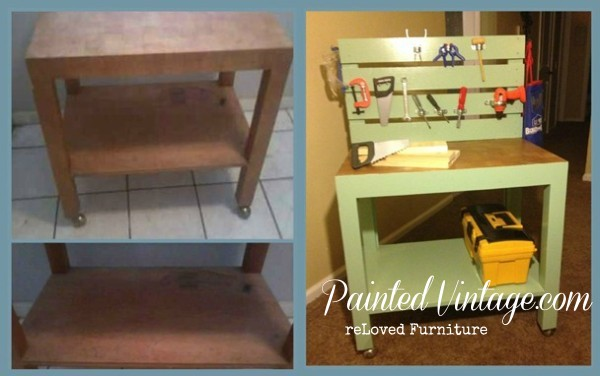 Kids Workbench Before and After