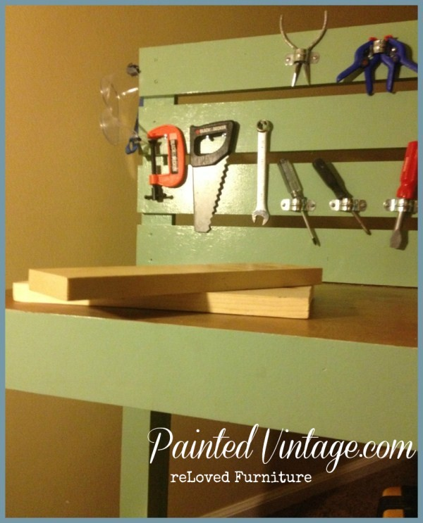 DIY Kids Play Work bench
