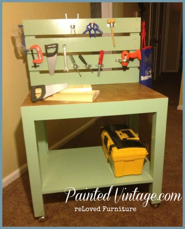Kids Work Bench How To