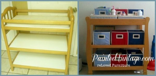 Ideas For Diy Kids Workbench Changing Table