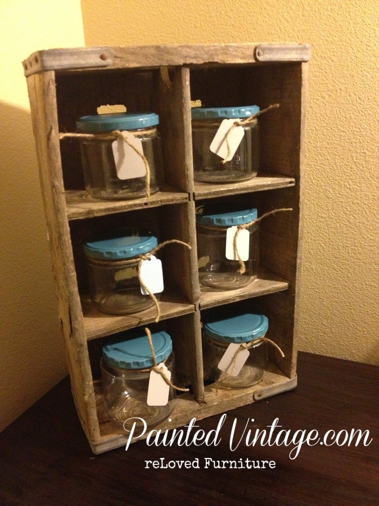 Repurposed Soda Crate
