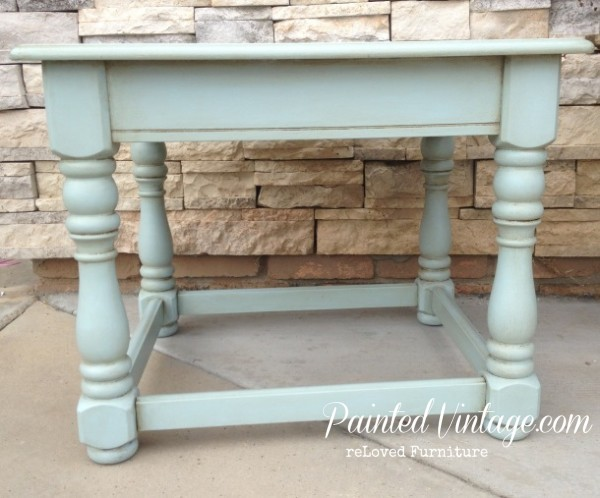 Blue Refreshed End Tables