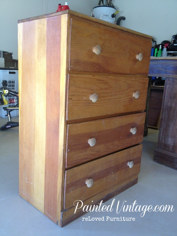 Neglected Dresser Before