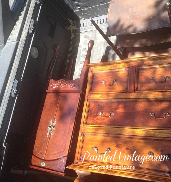 Painted Vintage reLoved Furniture