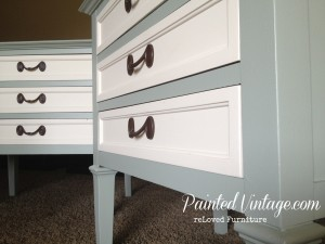 Painted vintage Nightstands