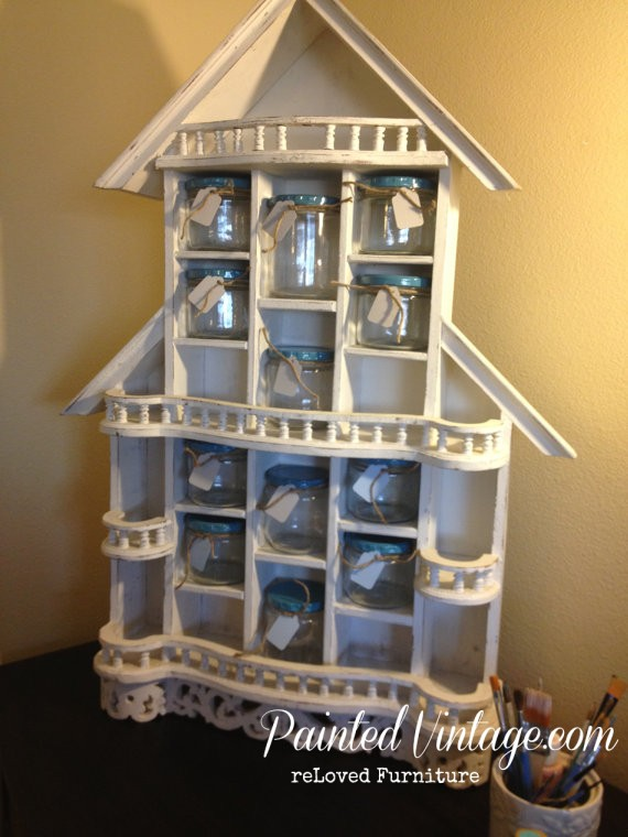 Shabby Cottage Craft Organizer