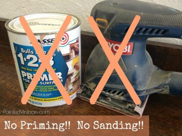No Sanding No Priming
