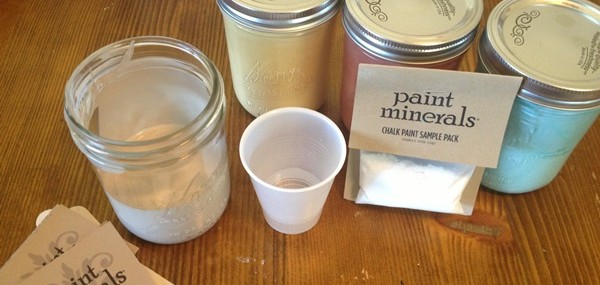 How to mix Paint Minerals Chalk Paint