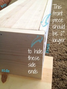 how to DIY wood mantle