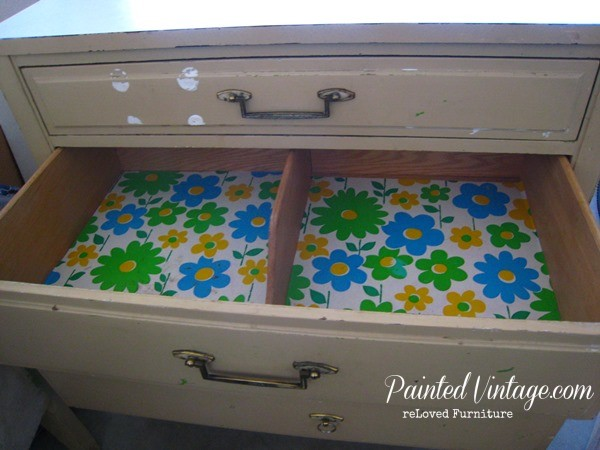 two toned nightstands drawer dividers