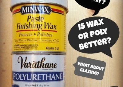 wax or polycrylic over chalk paint