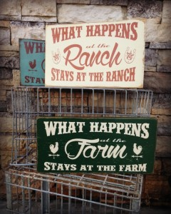 Farm and Ranch Sign