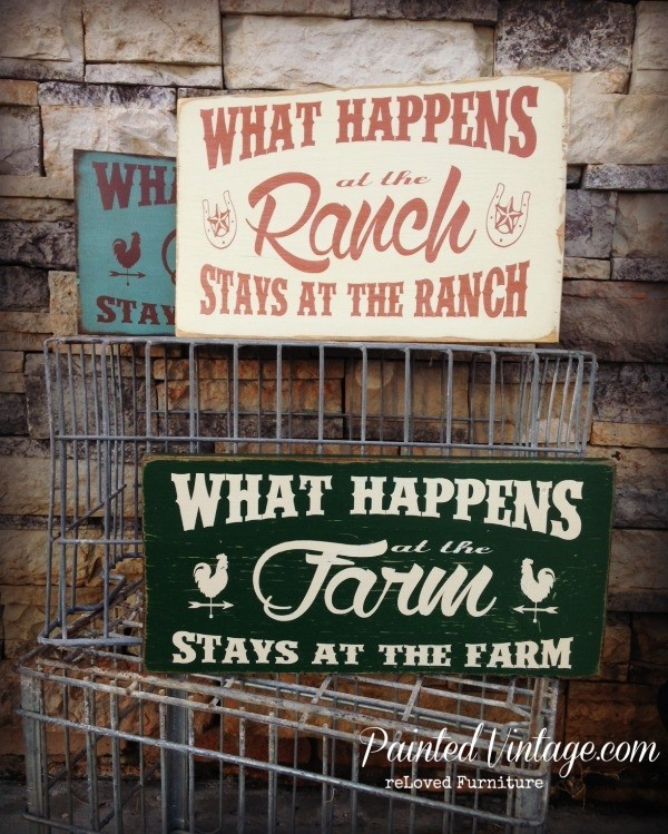 Farm and Ranch Signs