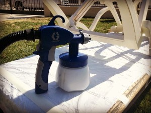 Graco HVLP Spray Station